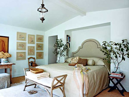 Master bedroom Cottage Living