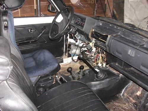 1995 Lada Niva Cossack 1.7i interior