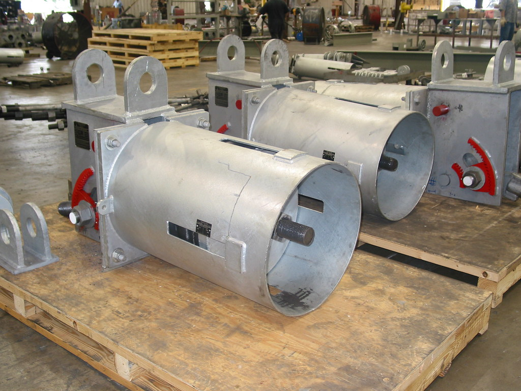 58 000 Lb Load Constant Hangers For An Oil Refinery