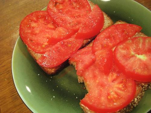 how i like fresh tomatoes