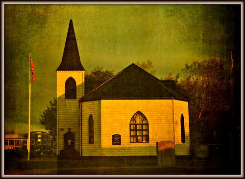 The Norwegian Church - Cardiff Bay, 7.00am