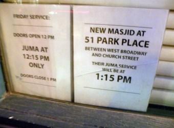 245 West Broadway is also the 'ground zero' mosque