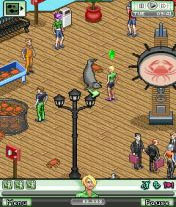 2/2/10 - 5 screens from The Sims 3 World Adventures (mobile)
