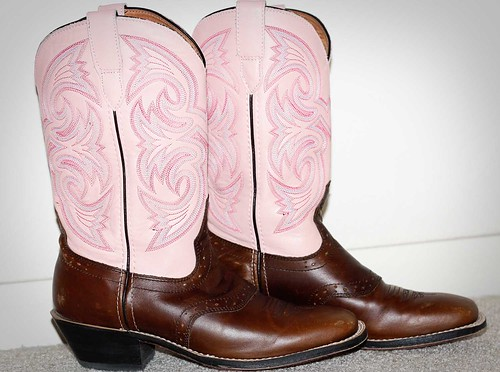 My pink boots