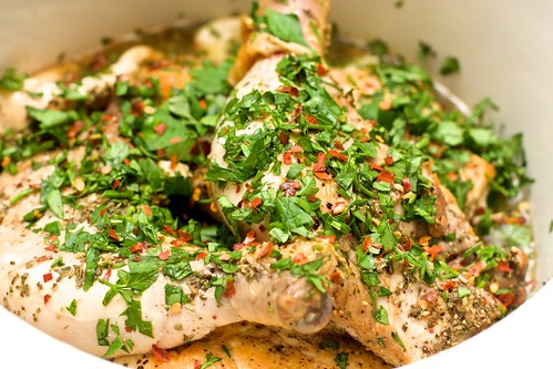 40 Clove Slow Cooker Chicken