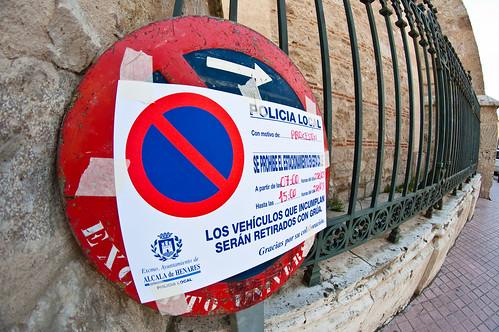 Prohibido sobre prohibido