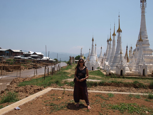 Lago Inle - Canales (yo)