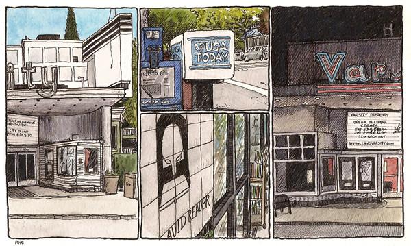 2nd street, june 2010