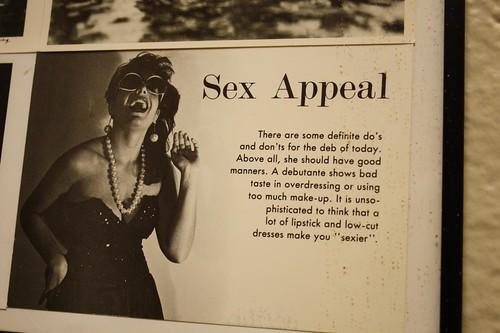 Sex Appeal -- http://www.flickr.com/photos/lexnger/4276874535/