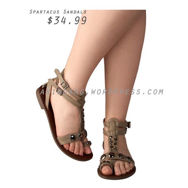 Spartacus Sandals