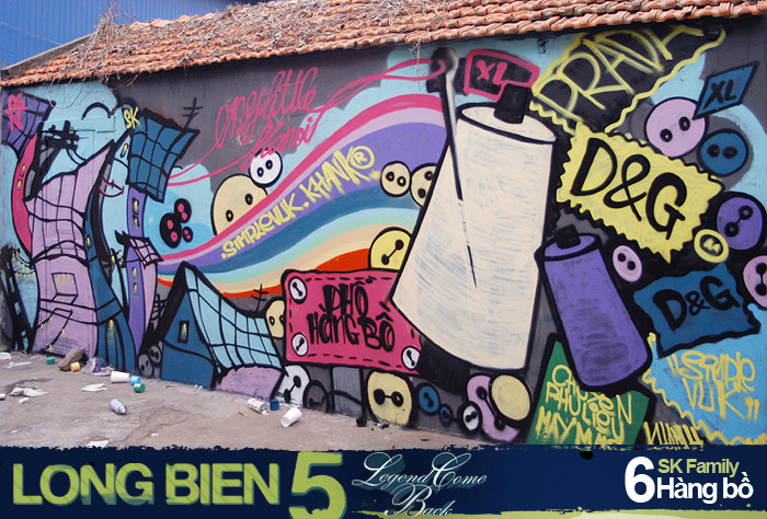 Long Biên 5 Graffiti Battle 5