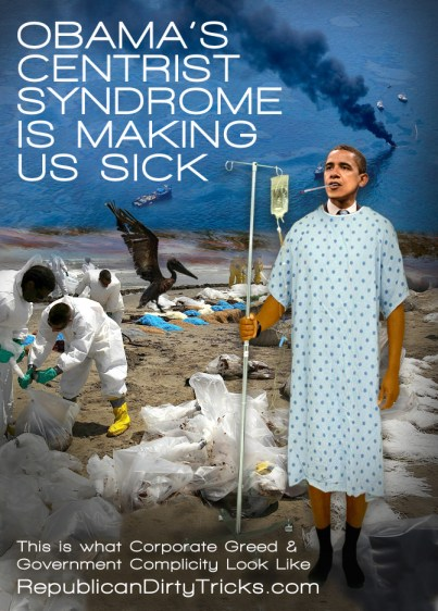 Obama Centrist Syndrome Is Making Us Sick Image