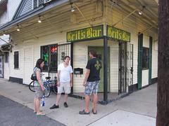 Grits Bar NOLA corner door