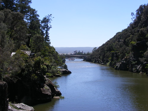 King's Bridge from the Cataract Gorge