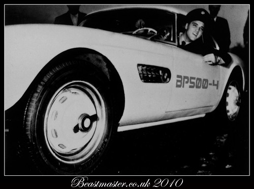 Day 169/365 Elvis and the BMW 507