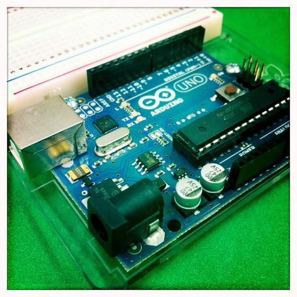 Just recieved my new Arduino UNO from @adafruit