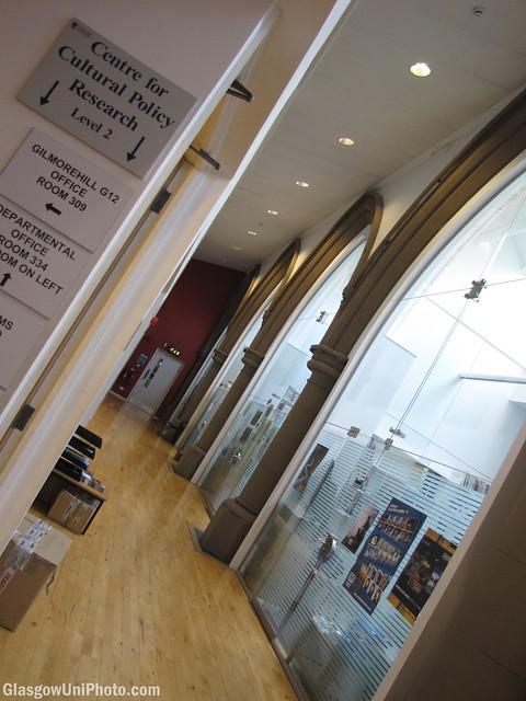 Inside Gilmorehill Centre