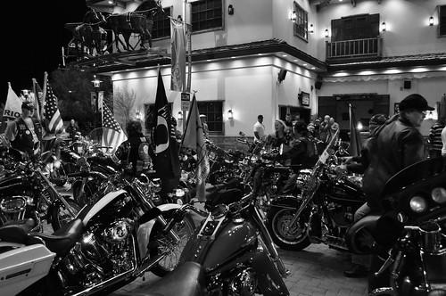 Bike Night on Veterans Day 001