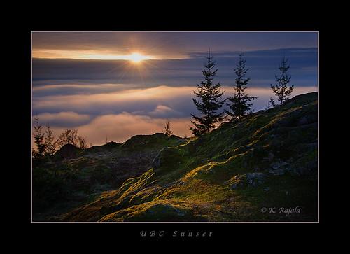 UBC Sunset