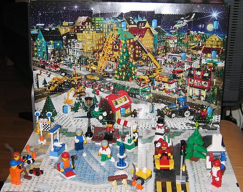lego advent 2009