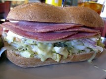 cafe alice - ham sandwich by foodiebuddha