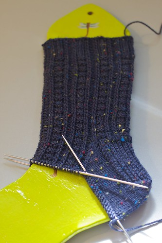 Second Retro Rib Sock: gussets