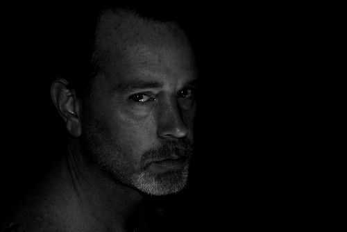 Chiaroscuro Self Portrait, by Lou FCD on Flickr