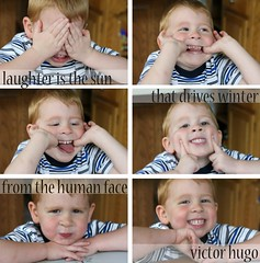 Laughter is the Sun - Victor Hugo Quote