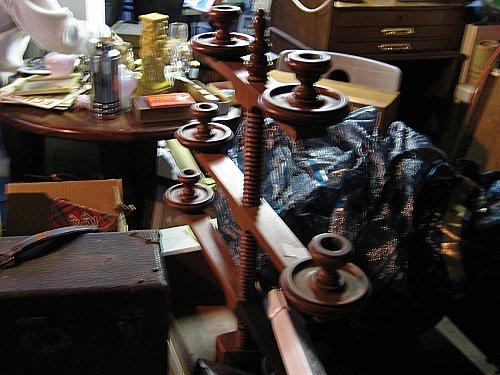 Garage sale stuff sampling