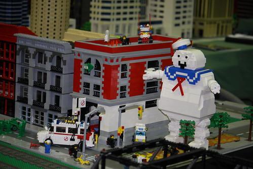 Lego Ghostbusters Scene