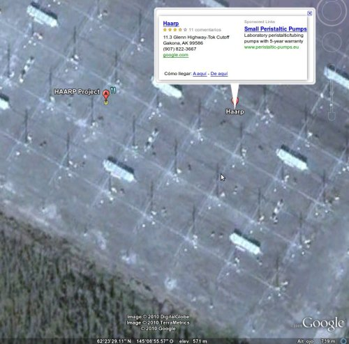 haarp from google earth