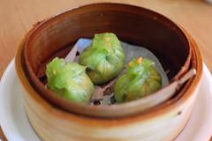 Bamboo Mooli Dumplings