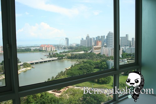 Views from one of the 3-bedroom in Riverine by the Park