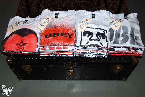 Obey Pop Up Store NYC