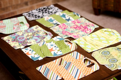 Bib and Burp Rag Set