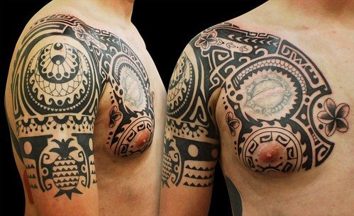 4640049211 b28e934a38 m Where Can I Find High Quality Tribal Sleeve Tattoos?
