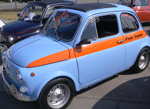 "Azure ""Old Fiat 500"""