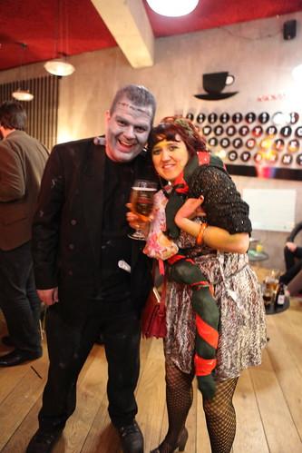 Frankenstein & Snake Lady