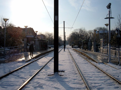 Where the snow tram goes