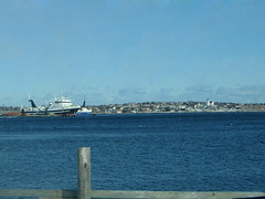Bay Roberts Harbour from the Klondyke Causeway.