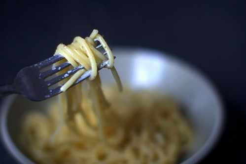 black pepper and cheese spaghetti