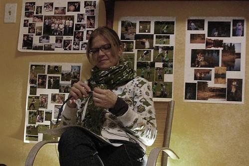 knitting begins