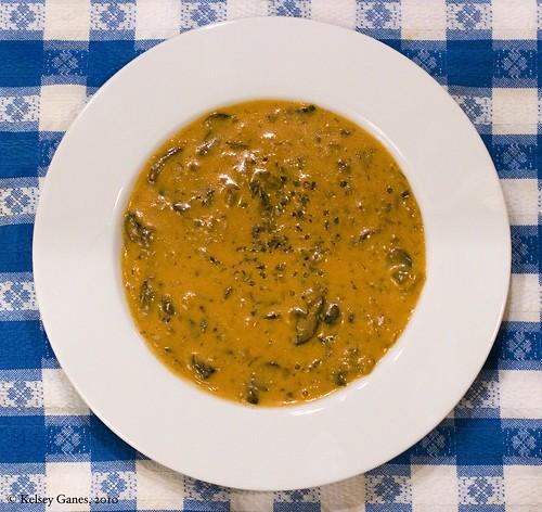 soup, Hungarian food, mushroom soup, mushrooms, picnic cloth, food, gluten free