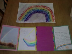 Skye's 'Rainbow' lapbook