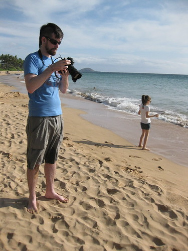 Taylor & Sym on the Beach