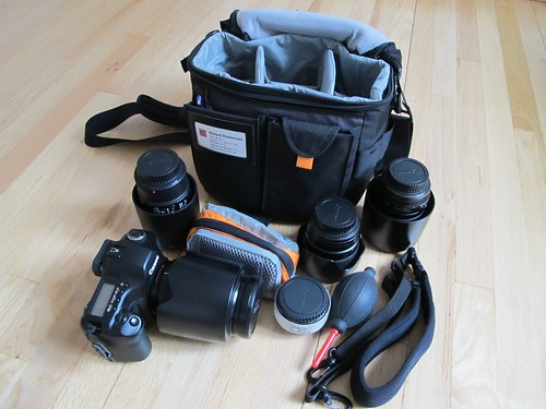 Lowepro Stealth Reporter 200 unloaded