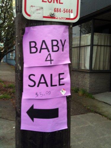 Baby 4 Sale