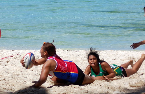 Nestea Fit Camp Hot Day 2 - Beach Sports Photography (21)
