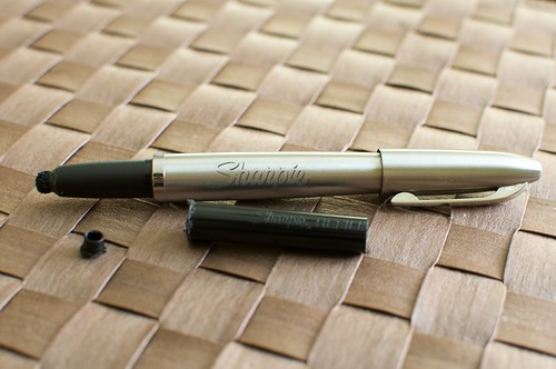 A prototype of a Sharpie for the iPad