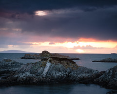 "Sunset from Arisaig • <a style=""font-size:0.8em;"" href=""http://www.flickr.com/photos/26440756@N06/4587805850/"" target=""_blank"">View on Flickr</a>"